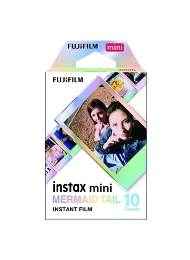 Fujifilm instax mini Mermaid Tail 10'lu Film Renkli